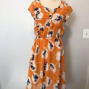 ModCloth floral print dress